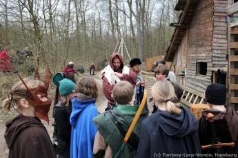 Fantasy-LARP Verein - Wesen des Waldes 1 - 042