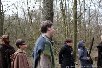 Fantasy-LARP Verein - Wesen des Waldes 1 - 096