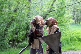 Fantasy-LARP Verein - Wesen des Waldes 2 - 040