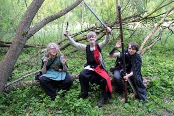 Fantasy-LARP Verein - Wesen des Waldes 2 - 061