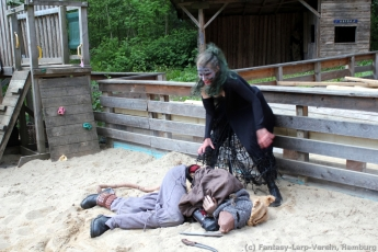 Fantasy-LARP Verein - Wesen des Waldes 2 - 083