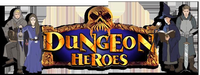 Webbanner Dungeon Heroes