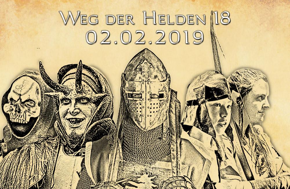 LARP-Event 'Weg der Helden 18 - 02.02.2019'