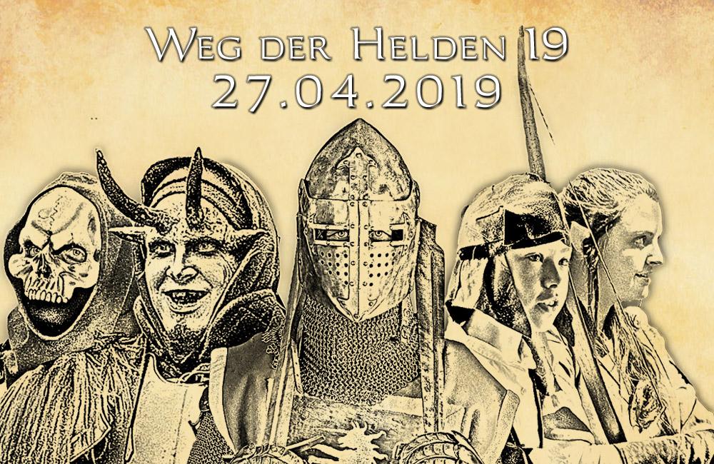LARP-Event 'Weg der Helden 19 - 27.04.2019'