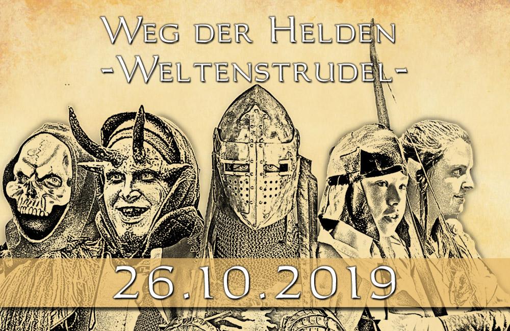 LARP-Event 'Weg der Helden 21 - 26.10.2019'